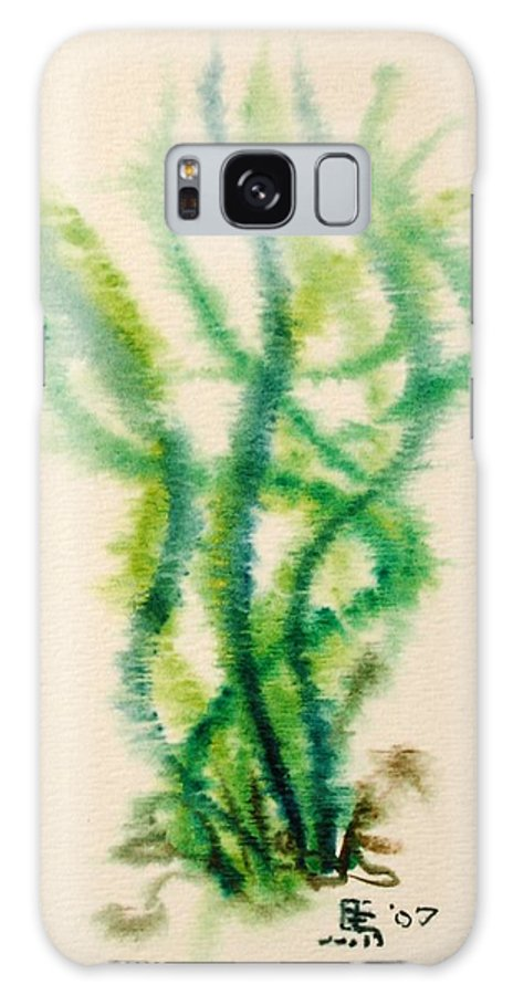 Sea Galaxy S8 Case featuring the painting Sea Bed One by Dave Martsolf