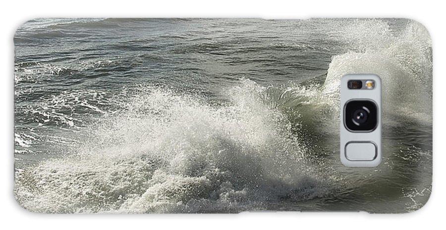 Aqua Galaxy S8 Case featuring the photograph Sea Waves by Svetlana Sewell