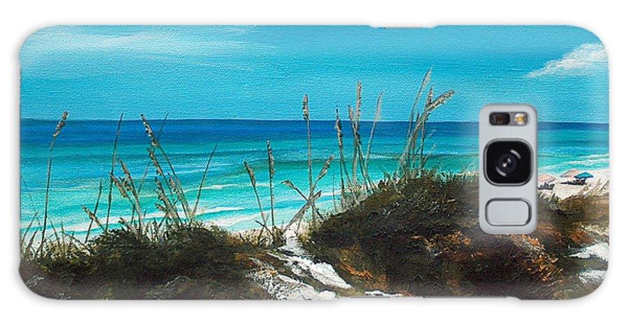 Seagrove Beach Galaxy S8 Case featuring the painting Seagrove Beach Florida by Racquel Morgan