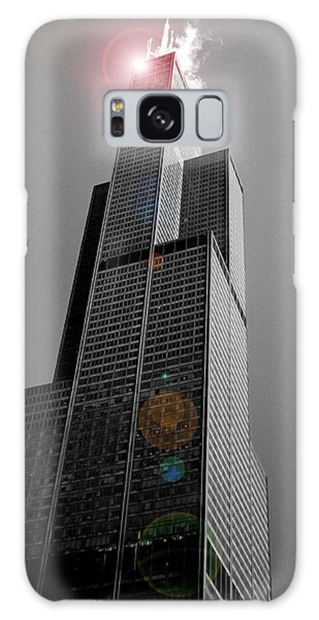Sears Tower Galaxy S8 Case featuring the photograph Sears Tower 2 by BuffaloWorks Photography