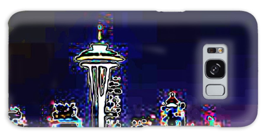 Seattle Galaxy S8 Case featuring the photograph Seattle Skyline by Tim Allen