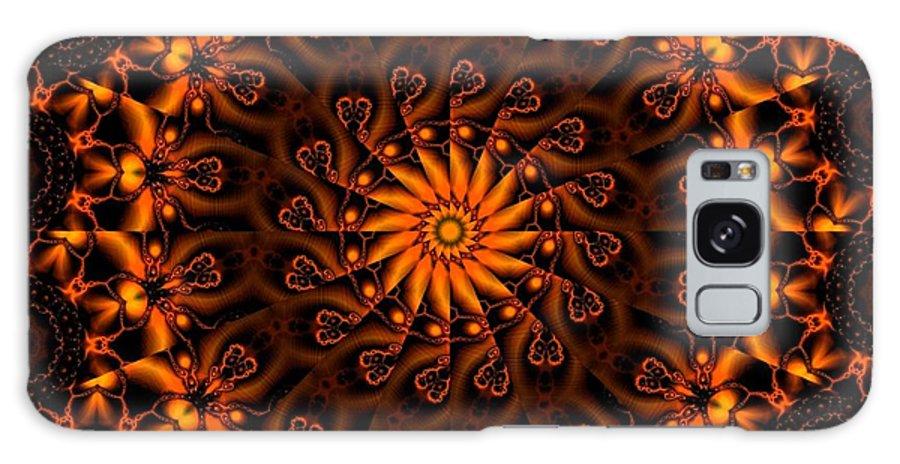 Fractal Galaxy S8 Case featuring the digital art Secret Garden by Robert Orinski