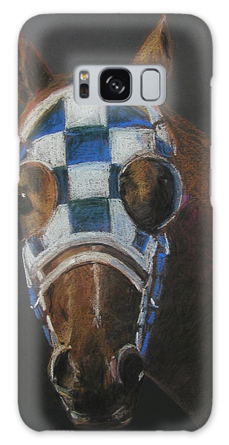 Secretariat Galaxy Case featuring the pastel Secretariat - Jewel Of The 1973 Triple Crown by Arline Wagner