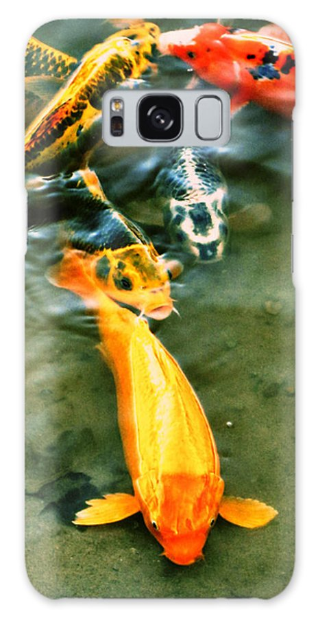 Koi Galaxy S8 Case featuring the photograph Secrets Of The Wild Koi 11 by September Stone