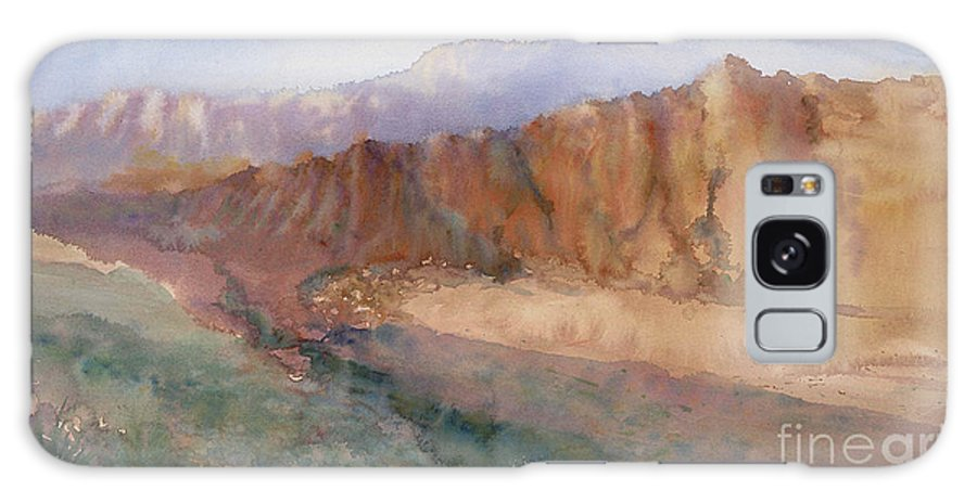 Sedopn Galaxy S8 Case featuring the painting Sedona by Ann Cockerill