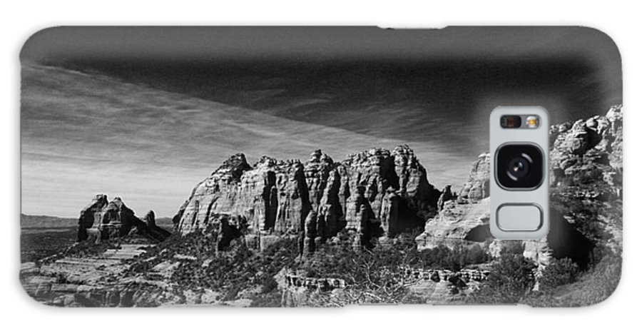 Sedona Galaxy Case featuring the photograph Sedona Reversed by Randy Oberg