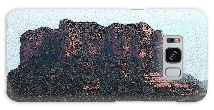 Altered Photography Galaxy S8 Case featuring the photograph Sedona Rock Formation by Wayne Potrafka