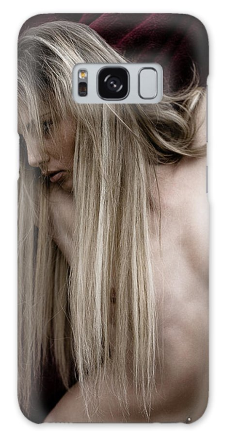 Sensual Galaxy Case featuring the photograph See Me by Olivier De Rycke
