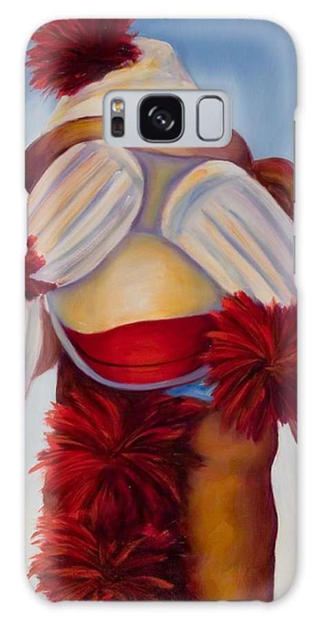 Children Galaxy S8 Case featuring the painting See No Bad Stuff by Shannon Grissom