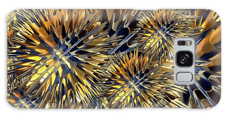 Seed Burr Galaxy S8 Case featuring the digital art Seed Burr by Ron Bissett