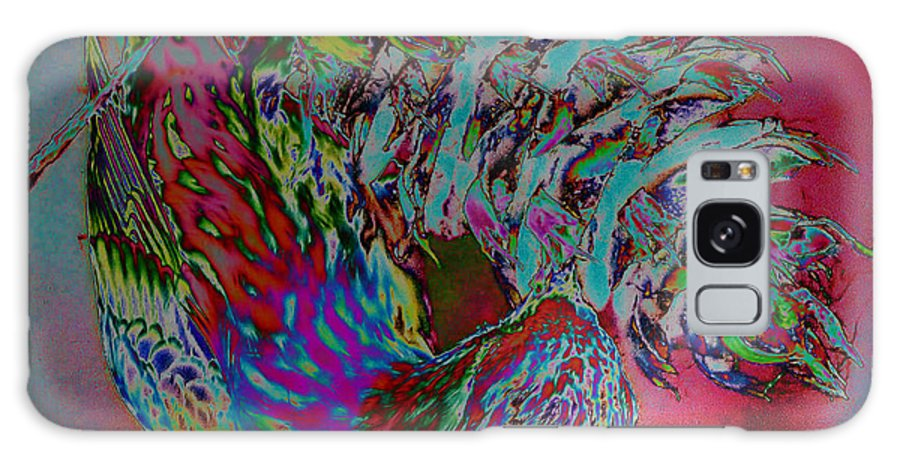Abstract Galaxy S8 Case featuring the photograph Seed Eater by Jeff Swan