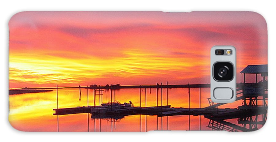 Sunsets Galaxy S8 Case featuring the photograph Seeing Is Believing by Debbie May