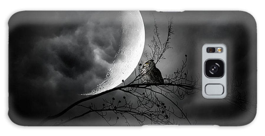 Owl Galaxy S8 Case featuring the photograph Seer Of Souls by Lourry Legarde