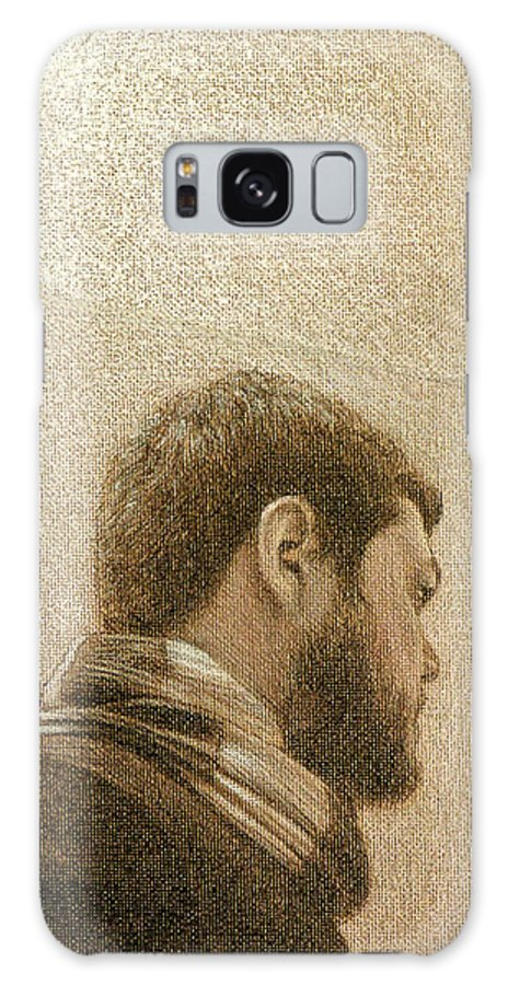 Galaxy S8 Case featuring the painting Self by Joe Velez
