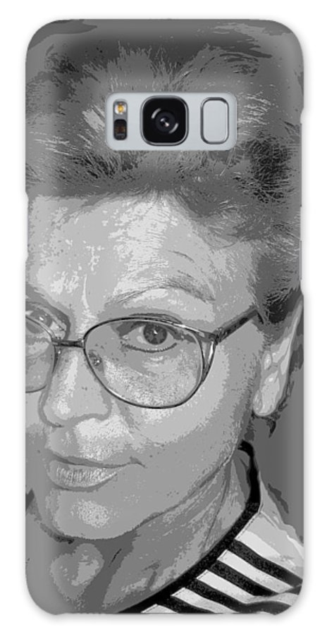 Self Portrait Galaxy S8 Case featuring the photograph selfportrait III by Dragica Micki Fortuna