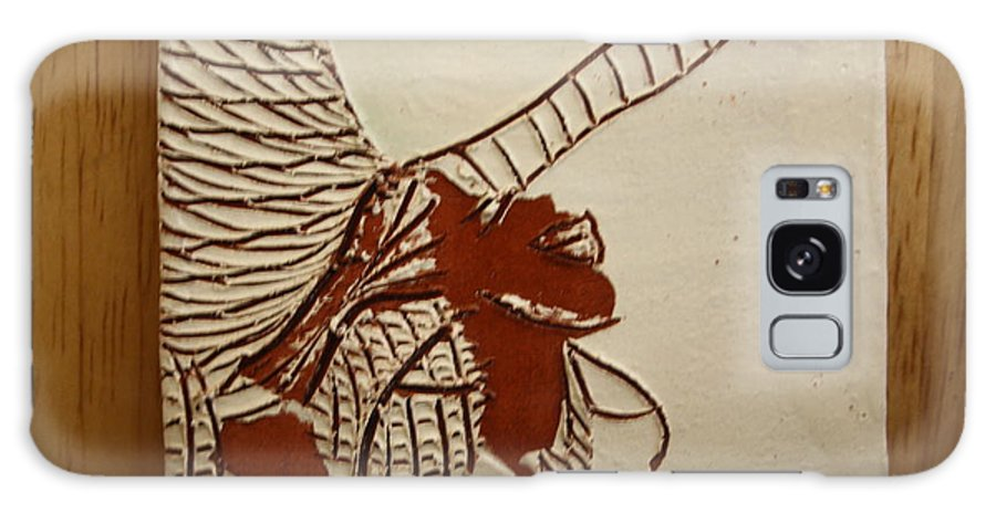 Jesus Galaxy S8 Case featuring the ceramic art Selina - Tile by Gloria Ssali