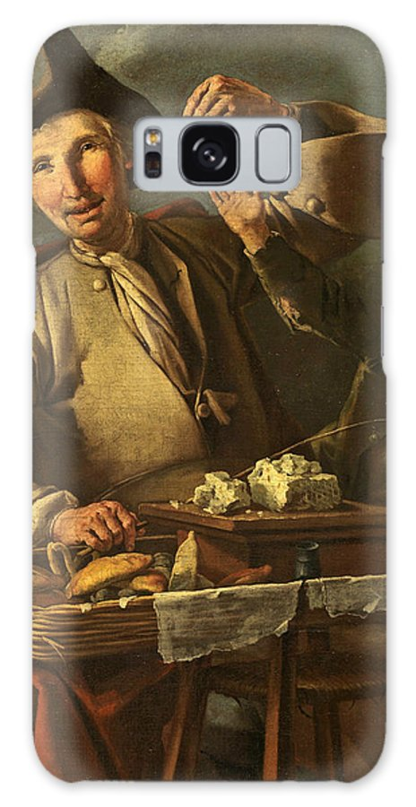 Giacomo Francesco Cipper Galaxy S8 Case featuring the painting Seller Of Sweets And Donuts by Giacomo Francesco Cipper
