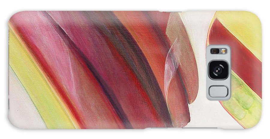 Abstract Galaxy Case featuring the painting Sens 3 by Muriel Dolemieux