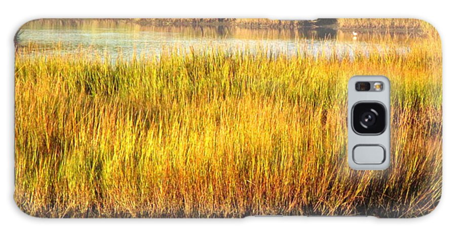 Water Galaxy S8 Case featuring the photograph Serene Grasses by Sybil Staples