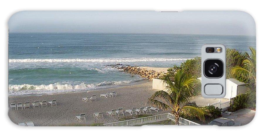 Beach Galaxy S8 Case featuring the photograph Serene Sojourn by Vicki Lynn Sodora