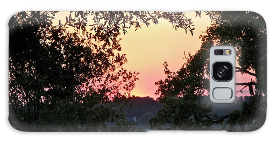 Sunset Galaxy S8 Case featuring the photograph Serene Sunset by Carol Bradley