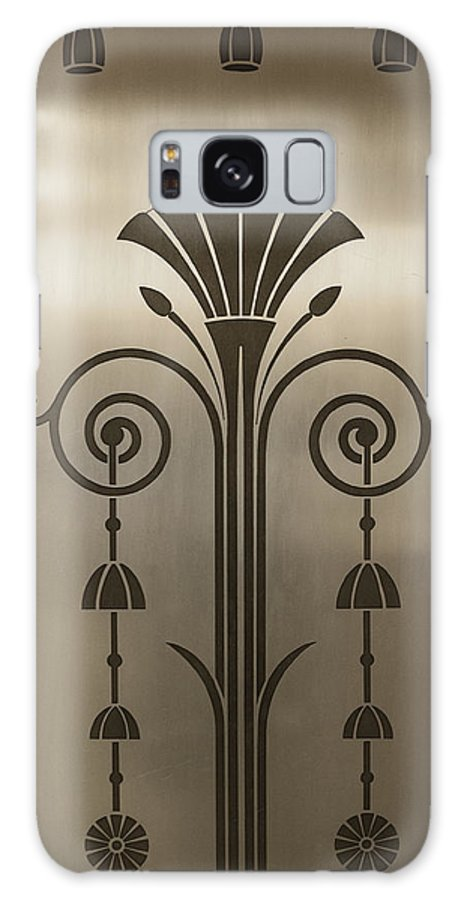 Severance Hall Galaxy S8 Case featuring the photograph Severance Hall Art Deco Door Detail by Kathleen Nelson