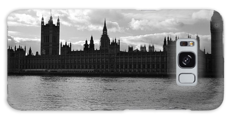 London Galaxy S8 Case featuring the photograph Shadows Of Parliament by J Todd