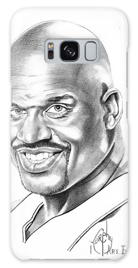 Basketball Galaxy S8 Case featuring the drawing Shaquille O'neal by Murphy Elliott