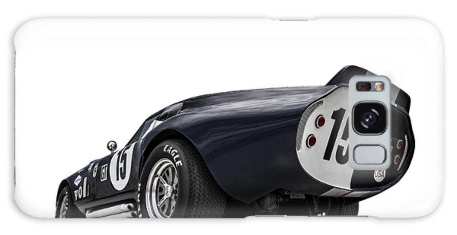 Shelby Galaxy S8 Case featuring the digital art Shelby Daytona by Douglas Pittman