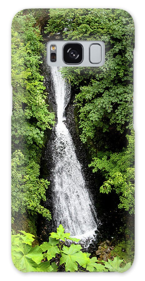 Waterfall Galaxy S8 Case featuring the photograph Shepperd's Dell Falls, Oregon by Aashish Vaidya