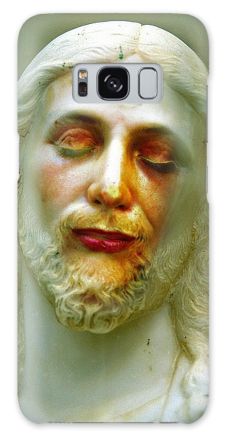 Jesus Galaxy S8 Case featuring the photograph Shesus by Skip Hunt