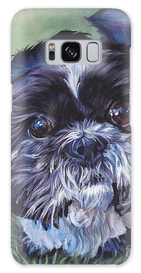 Shih Tzu Galaxy S8 Case featuring the painting Shih Tzu by Lee Ann Shepard