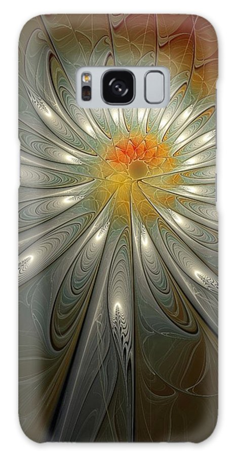 Digital Art Galaxy Case featuring the digital art Shimmer by Amanda Moore