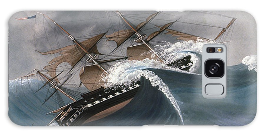 18th Century Galaxy S8 Case featuring the photograph Shipwreck by Granger