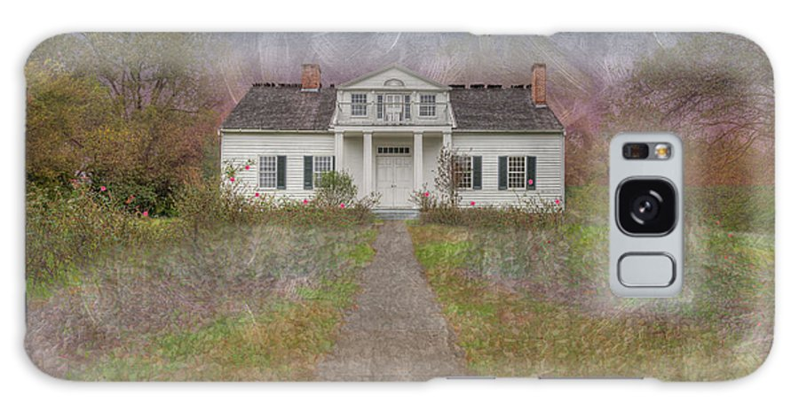 Hdr Galaxy S8 Case featuring the digital art Shirley House by Larry Braun