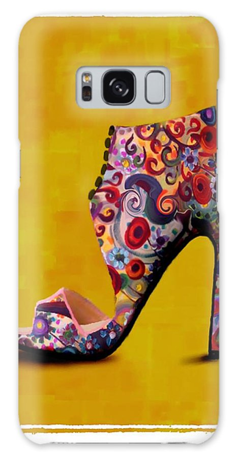 Footwear Galaxy S8 Case featuring the painting Shoe Illustration 1 by Jann Paxton