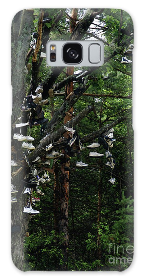 Amusement Galaxy S8 Case featuring the photograph Shoe Tree by Linda Shafer