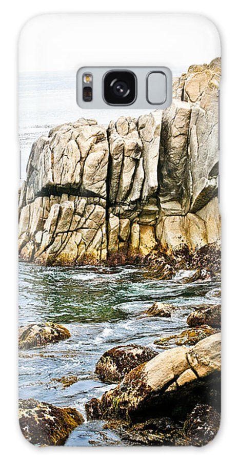 Pebble Beach Galaxy Case featuring the photograph Shores Of Pebble Beach by Marilyn Hunt