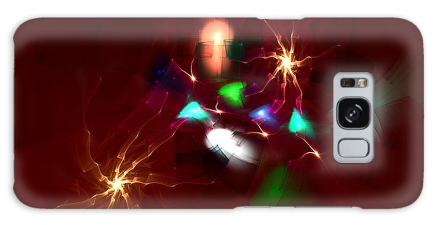 Digital Painting Galaxy S8 Case featuring the digital art Short Circut by David Lane