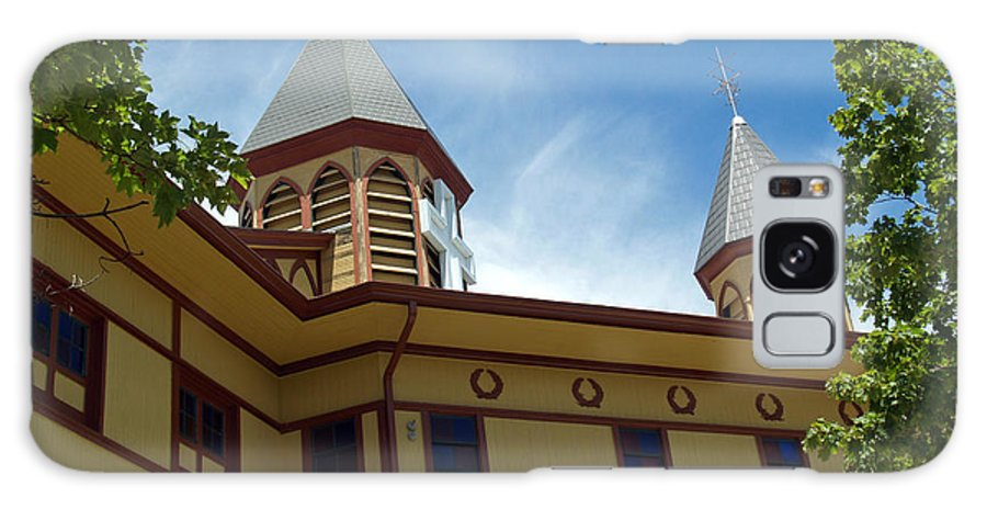 Church Galaxy S8 Case featuring the photograph Side View Of The Great Auditorium Of Ocean Grove Nj by Anna Lisa Yoder