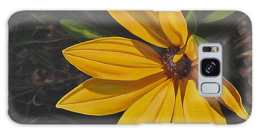 Wildflower Galaxy Case featuring the painting Sign of Summer by Hunter Jay