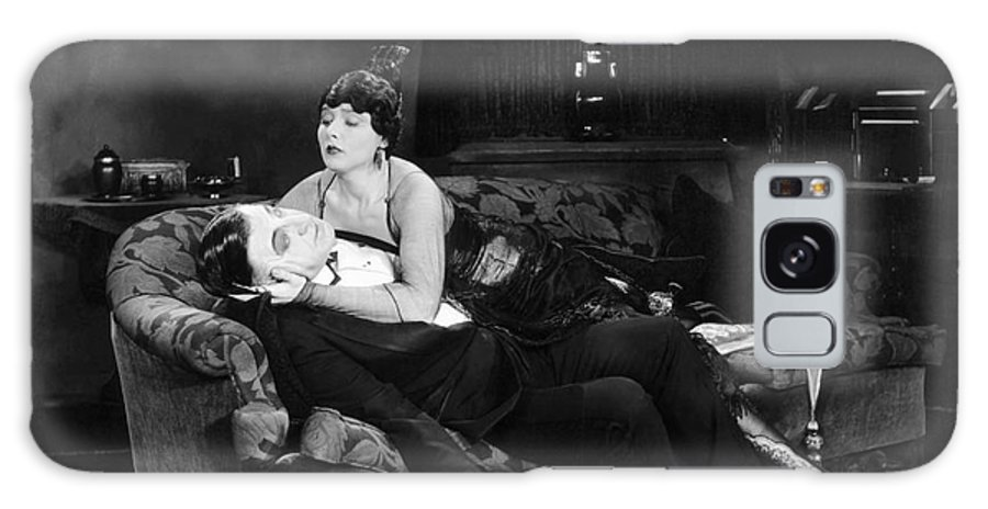 -fainting- Galaxy S8 Case featuring the photograph Silent Film Still: Fainting by Granger