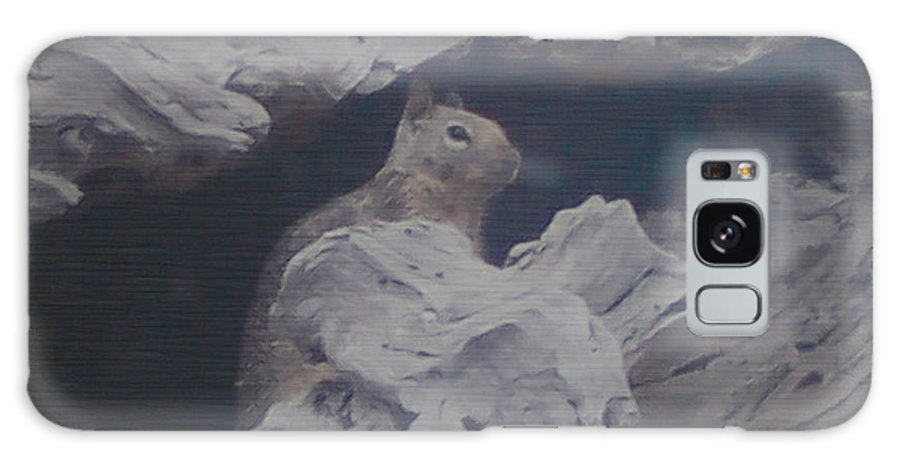 Squirrel Galaxy S8 Case featuring the photograph Silent Observer by Pharris Art