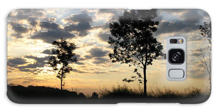 Landscape Galaxy S8 Case featuring the photograph Silhouette by Rhonda Barrett