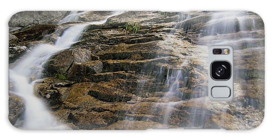 Tourism Galaxy S8 Case featuring the photograph Silver Cascades - Crawford Notch New Hampshire by Erin Paul Donovan