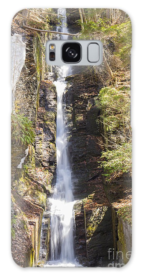 Water Galaxy S8 Case featuring the photograph Silverthread Falls by Paul Fell