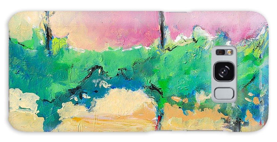 Vineyard Galaxy Case featuring the painting Simpatico by Kurt Hausmann