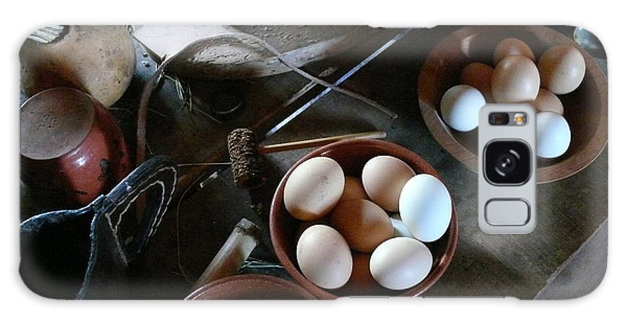 George Ranch Galaxy S8 Case featuring the photograph Simple Farmers Table by Mark Grayden