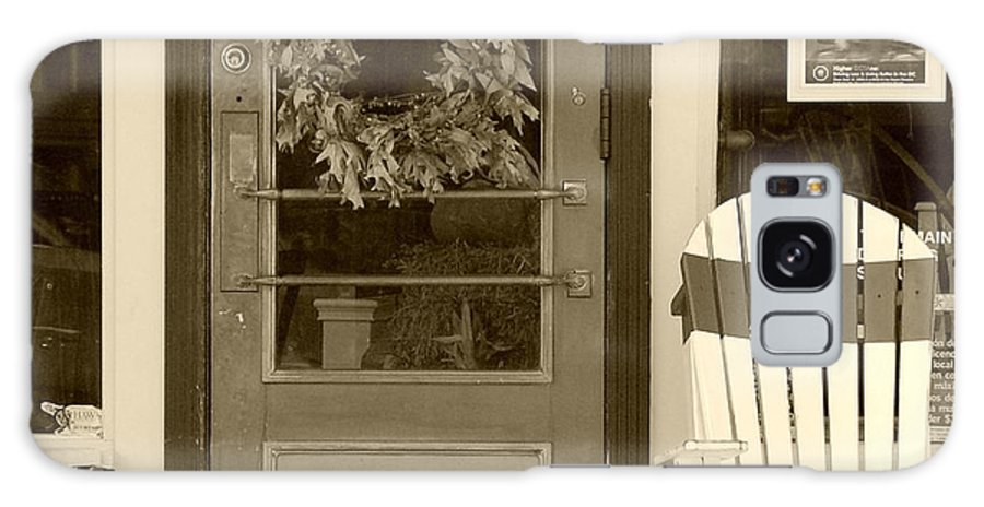 Rocking Chair Galaxy Case featuring the photograph Simple Times by Debbi Granruth