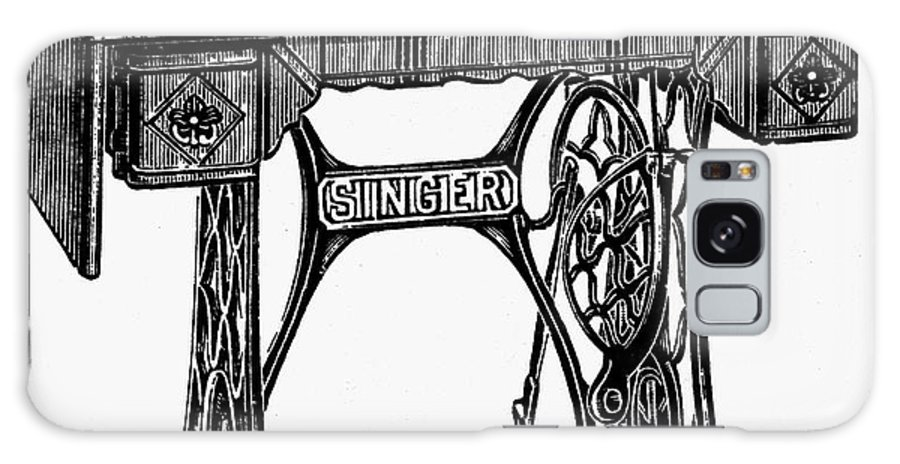 19th Century Galaxy S8 Case featuring the photograph Singer Sewing Machine by Granger